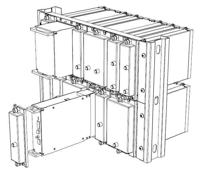 M Series Modular Rack Mount Protection Relay Cases