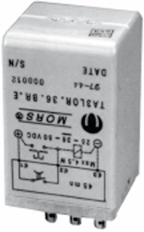 ta3 time delay relay mors smitt railway components \u0026 solutionstimer relays ta3 electronic timer module, delay on drop out (parallel wiring)