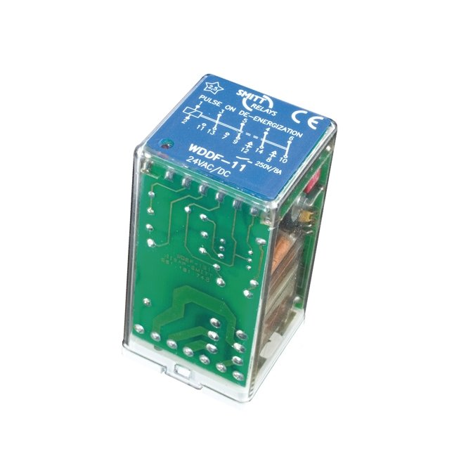 Timer heavy duty power relays